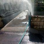 Lavaggio strade maiori