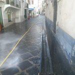 minori lavaggio strade