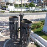 pulizia sanificazione cestini lungomare maiori