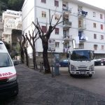 Maiori Potatura alberi in Piazza Mercato