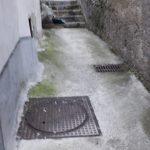Spazzamento pulizia via Casa Marra Maiori
