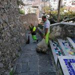 Taglio spazzamento villaggio Torre Minori