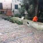 Intervento manutenzione pulizia e verde