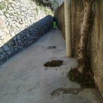 Spazzamento e pulizia presso località Torre