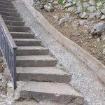 Taglio e spazzamento in via Ciglio