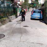 Maiori Sanificazione effettuata presso frazione Ponteprimario, frazione Vecite e frazione Santa Maria delle Grazie