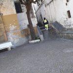Sanificazione via Castello, vicolo Sarno, vicolo Maio, vicolo Sepetito e San Pietro