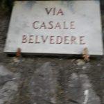 Sanificazione effettuata in via San Paciullo, vi Casale Belvedere, via Carpineto, via De Ponte e Madonna delle Grazie