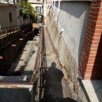Spazzamento e pulizia sponde e alveo presso via Casa Imperato