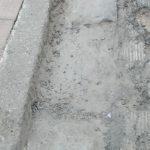 Intervento di spazzamento e pulizia presso lungomare in seguito a lavori edili