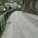 Taglio e spazzamento in Via Pioppi