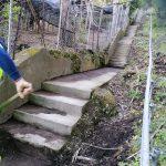 Taglio e spazzamento in località Sangineto