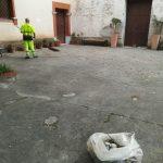 Taglio e spazzamento presso località Villamena