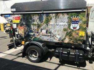 consegna nuovo automezzo conca dei marini