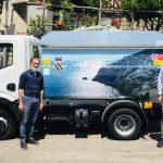 Consegnato nuovo automezzo per la raccolta rifiuti con serigrafia del Comune di Praiano