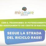 Programma di potenziamento ed adeguamento dei centri di raccolta RAEE: seguiamo la strada del riciclo!