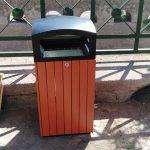 Erchie nuovi cestini per la raccolta dei rifiuti