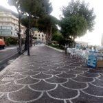 Lavaggio presso lungomare, corso Reghnna e rotatoria San Francesco Maiori