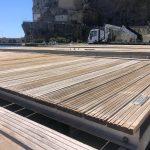 Manutenzione ai pontili galleggianti