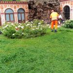 Taglio presso lungomare e villa comunale