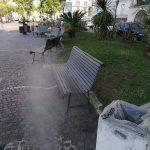 Sanificazione su territorio comunale
