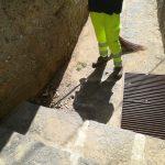 Taglio e spazzamento in località Villamena
