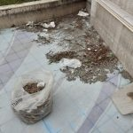 Pulizia e lavaggio presso fontana fronte Lungomare Amendola Maiori