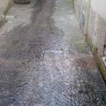 Spazzamento e lavaggio in Via Paie Maiori