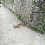 Spazzamento presso Torre Minori