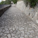 Conca dei Marini taglio e spazzamento in via Pistello