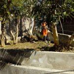 Ultimi lavori di pulizia e manutenzione sul territorio