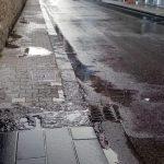 Lavaggio strada in Via Nuova Chiunzi e vicoli Maiori