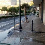 Lavaggio stradale in Via Nuova Chiunzi, San Pietro e lungomare G. Capone Maiori