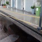 Lavaggio stradale in Via Nuova Chiunzi e vicoli Maiori