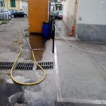 Lavaggio stradale in via Nuova Chiunzi e in via G. Capone Maiori