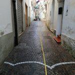 Lavaggio strade Minori