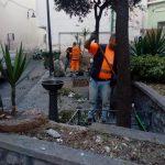 Maiori Taglio, spazzamento e pulizia in via Cerasuoli