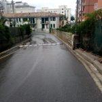 Maiori lavaggio in via Vecchia Chiunzi e via Capitolo