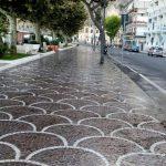 Maiori lavaggio stradale effettuato presso Corso Reginna e via Nuova Chiunzi