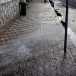 Maiori lavaggio stradale in via Santa Tecla e lungomare Amendola