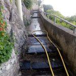 Maiori spazzamento e lavaggio presso Lazzaro, Casale, Grado dei pezzi e Lama