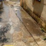 spazzamento, pulizia e lavaggio Casa Imperato Superiore e Inferiore