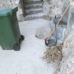 Minori spazzamento presso località Annunziata