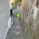 Minori spazzamento via Torre