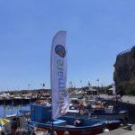 Posizionamento vele nel porto turistico Maiori