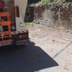 Pulizia e rimozione piccoli rifiuti abbandonati parco della tranquillità - Tramonti
