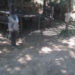 Pulizia e rimozione piccoli rifiuti abbandonati presso Parco della tranquillità Tramonti