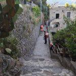 Sentiero dei Limoni spazzamento e irrigazione