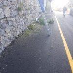 Taglio e spazzamento in Via Don G. Amodio Conca dei Marini