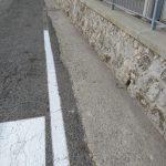 Taglio e spazzamento ingresso Tramonti e località Valico di Chiunzi Tramonti